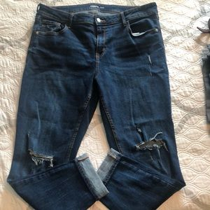 Old Navy Jeans - Old navy rock star super skinny jeans